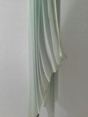 H&M Écharpe d'été gris vert polyester