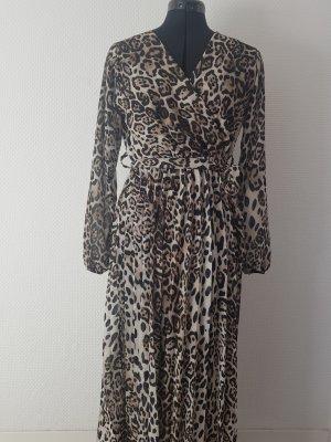 Chiffon Dress multicolored polyester