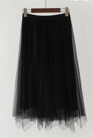 Pleated Skirt black
