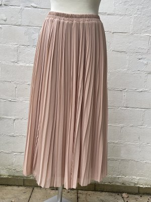 H&M Pleated Skirt apricot