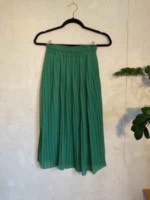 Holiday Falda plisada verde