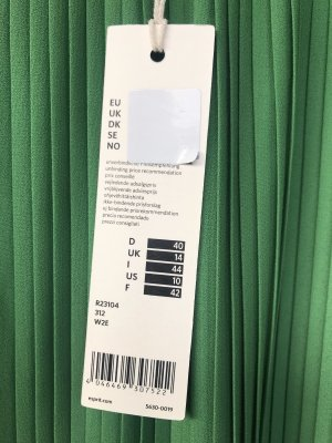 Esprit Jupe plissée vert polyester