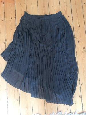 Zara Pleated Skirt dark grey