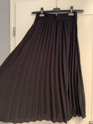 C&A Clockhouse Plisowana spódnica czarny