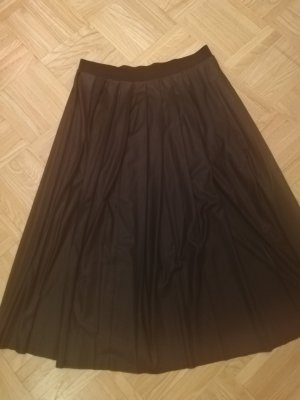 Max & Co. Faux Leather Skirt black