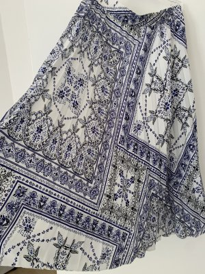 H&M Plisowana spódnica Wielokolorowy