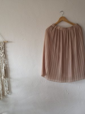 Zara Pleated Skirt dusky pink