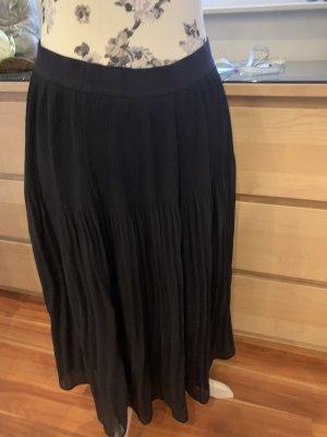 H&M Plisowana spódnica ciemnoniebieski