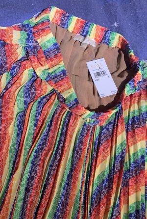 Michael Kors Falda plisada multicolor