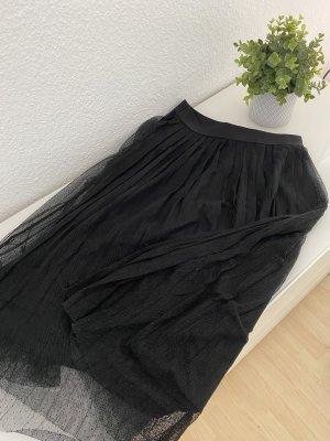 Pull & Bear Jupe plissée noir