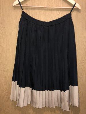 Madeleine Jupe taille haute noir-doré