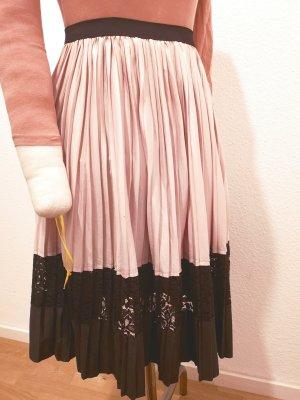 Zara Basic Jupe plissée multicolore