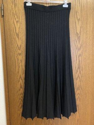 oui collection Jupe plissée noir