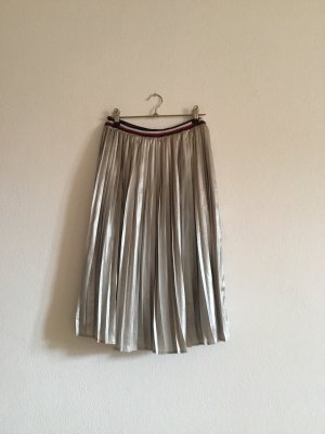 Tommy Hilfiger Pleated Skirt silver-colored