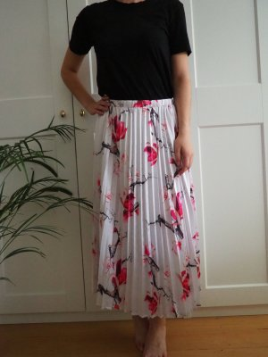 YAS Pleated Skirt multicolored polyester