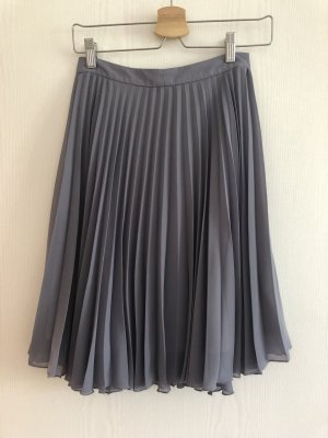 Mohito Pleated Skirt grey polyester