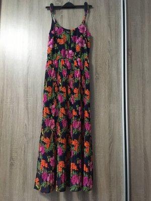 Plissees Sommerkleid Maxi