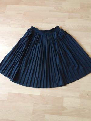 Falda plisada negro