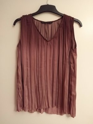 plissierte Bluse