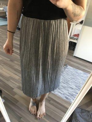 Reserved Jupe plissée argenté