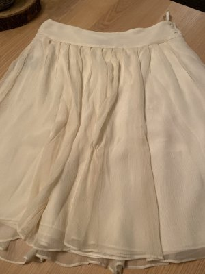Lauren by Ralph Lauren Pleated Skirt natural white