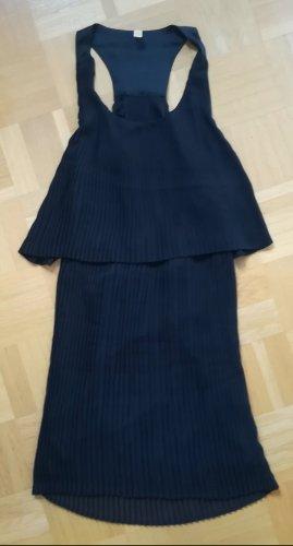 Plissiertes Minikleid
