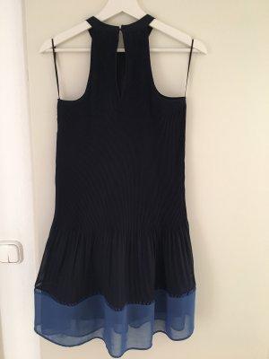 H&M Trend Vestido de cuello Halter azul oscuro-azul aciano