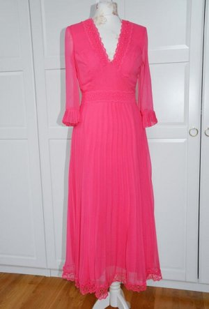ASOS DESIGN A Line Dress pink