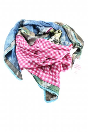 Plomo o plata Silk Cloth check pattern casual look