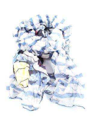 Plomo o plata Chal veraniego estampado temático look casual