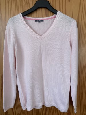Adagio Knitted Wrap Cardigan light pink