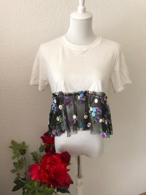 Pretty Little Thing Cropped shirt veelkleurig