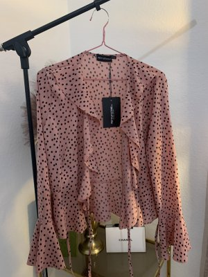 PrettyLittleThing Blouse portefeuille multicolore