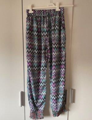/ Pantalon large multicolore