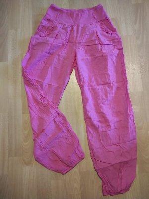 Pluderhose rosa Größe 40