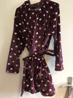 Bathrobe brown violet