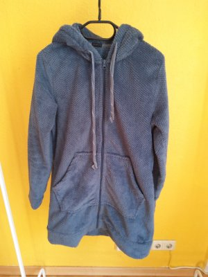 Oysho Robe de chambre gris ardoise-bleuet