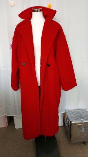 Ohne Oversized jas rood-donkerrood