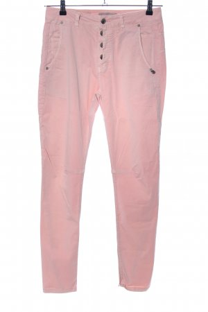 Plus Fine Stoffhose pink Casual-Look