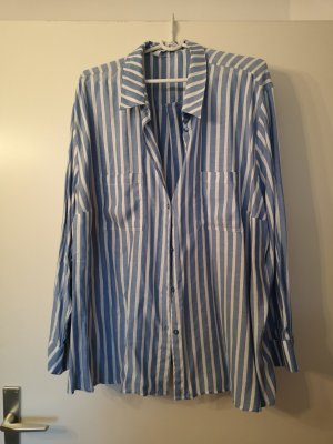 Plus Size Bluse mit Glanzgarn