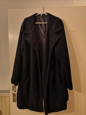 Studio Untold Giacca in eco pelliccia blu scuro