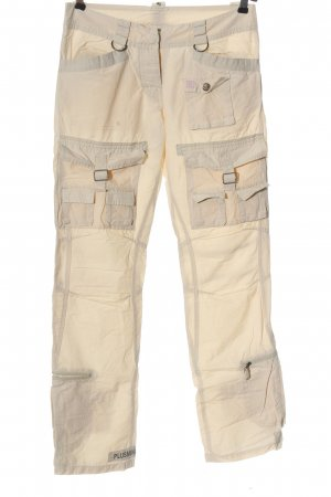 PLUSMINUS created by Chiemsee Cargo Pants cream casual look