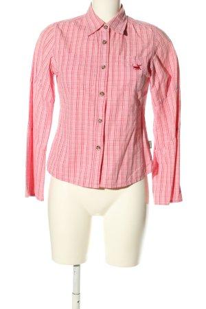 PLUSMINUS created by Chiemsee Hemd-Bluse pink Karomuster Casual-Look