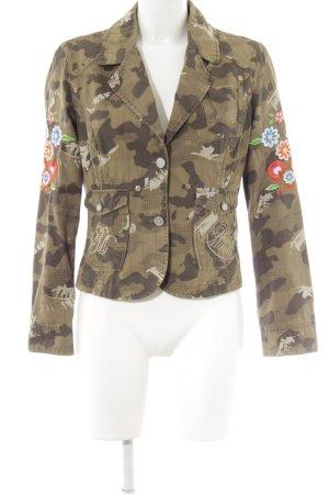 PLUSMINUS created by Chiemsee Kurz-Blazer Camouflagemuster