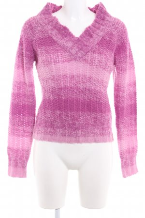 PLUSMINUS created by Chiemsee Strickpullover violett-rosa Webmuster Casual-Look