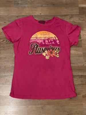 Plusminus T-shirt rosa