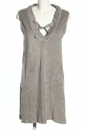 Pluto House-Frock light grey flecked casual look