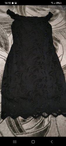 keine Sukienka na jedno ramię czarny