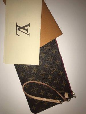 Louis Vuitton Borsa clutch marrone-rosso lampone