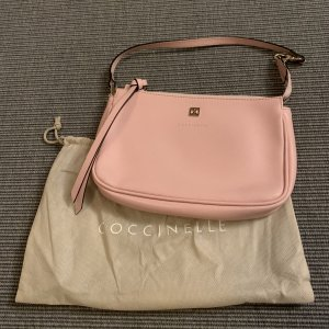 Coccinelle Pochette pink-gold-colored leather